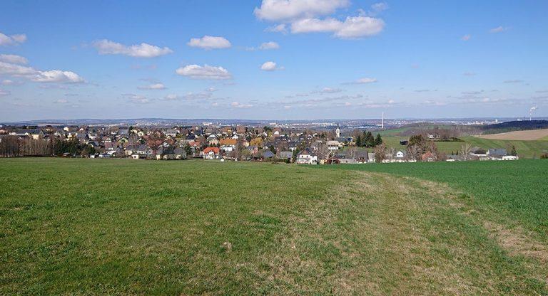 Gute Sicht nach Chemnitz