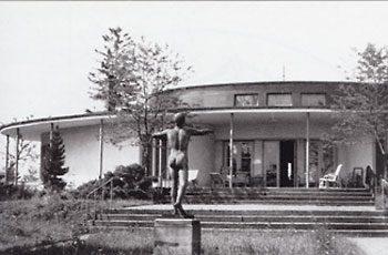 Das Golfclubhaus in Oberrabenstein