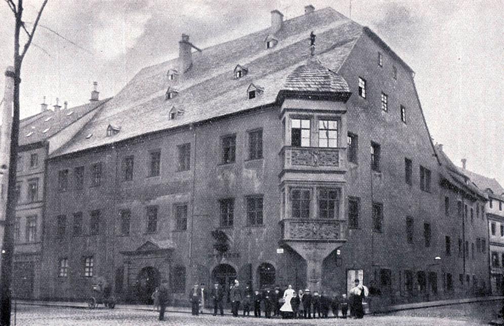 Adler-Apotheke um 1885