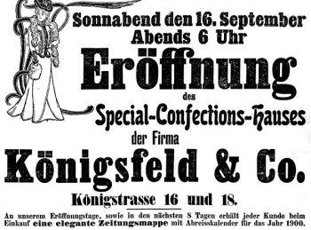 Annonce 1899