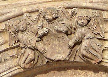 Das Judith-Lucretia-Portal am Alten Rathaus