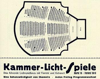 Ein Kinobesuch in den Kammerlichtspielen am Chemnitzer Markt