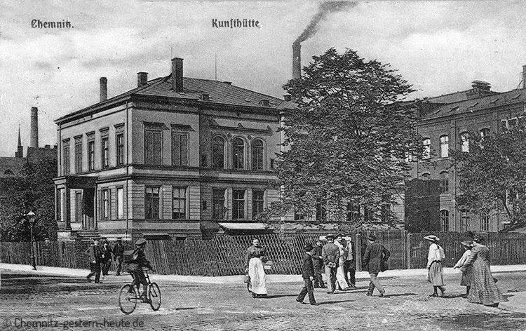 Das Gebäude der Kunsthütte