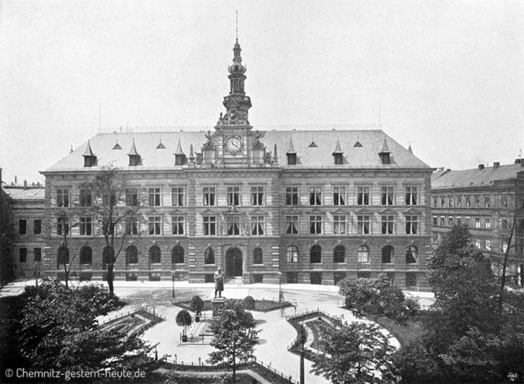 Neues Rathaus 1879