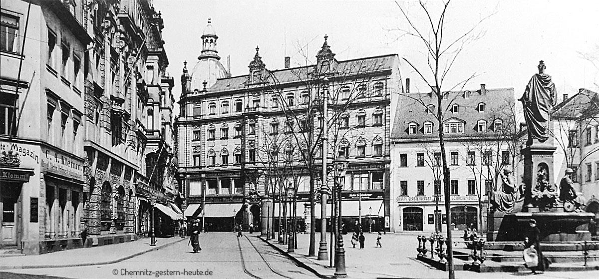 Rossmarkt um 1900