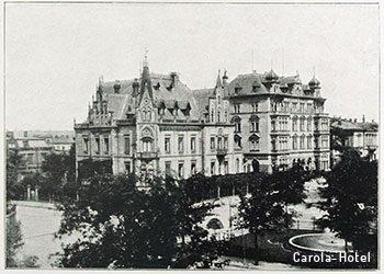 Das Carola-Hotel, ein Haus 1.Ranges