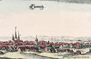 Chemnitz um 1650
