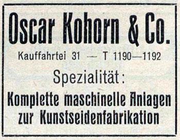 Oskar Freiherr von Kohorn zur Kornegg