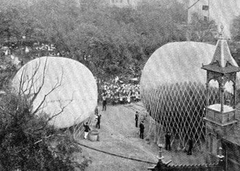 1895 – 2 neue Ballone am Himmel
