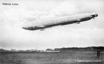 """Der Zeppelin LZ11 """"Viktoria Luise"""" in Chemnitz"""
