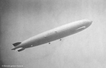 1928 – Der Luftkreuzer über der Stadt