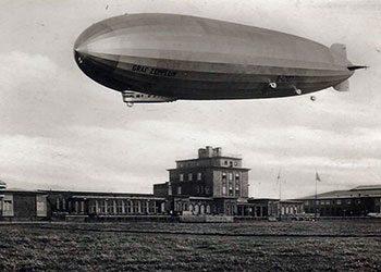 Das große Ereignis – Zeppelinlandung 1930