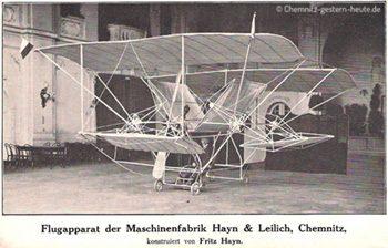 1909 – Fritz Hayn und seine ersten Ideen