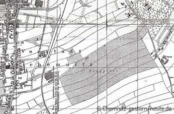 1913 – Der Flugplatz in Altchemnitz
