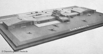 1925 – Der Chemnitzer Flughafen wird gebaut