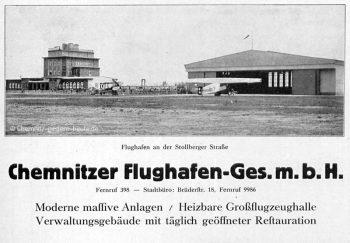 1925 – die Flughafen-Gesellschaft entsteht