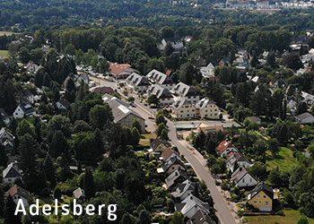 Chemnitz-Adelsberg aus der Luft