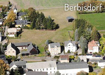 Berbisdorf von oben