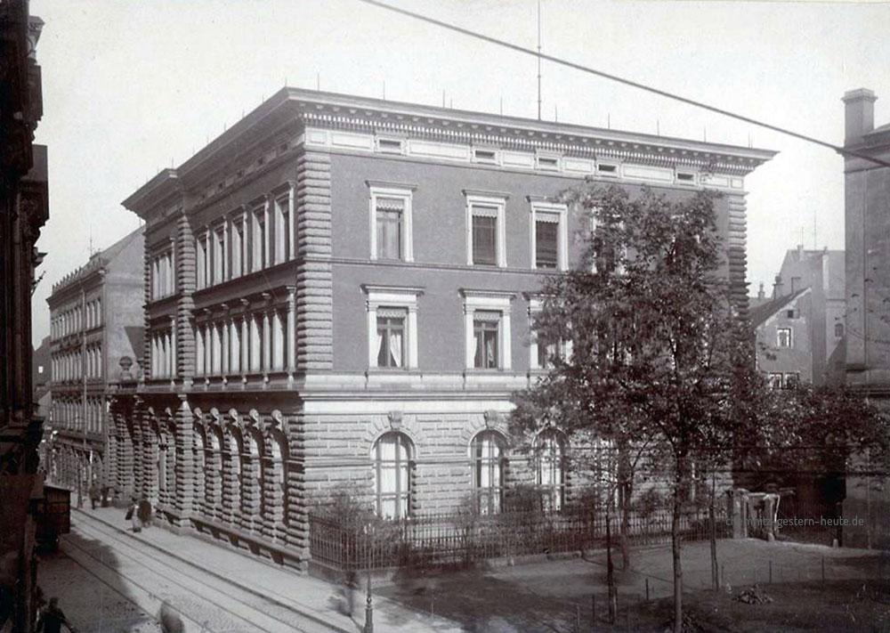 Reichsbankgebäude Chemnitz 1899