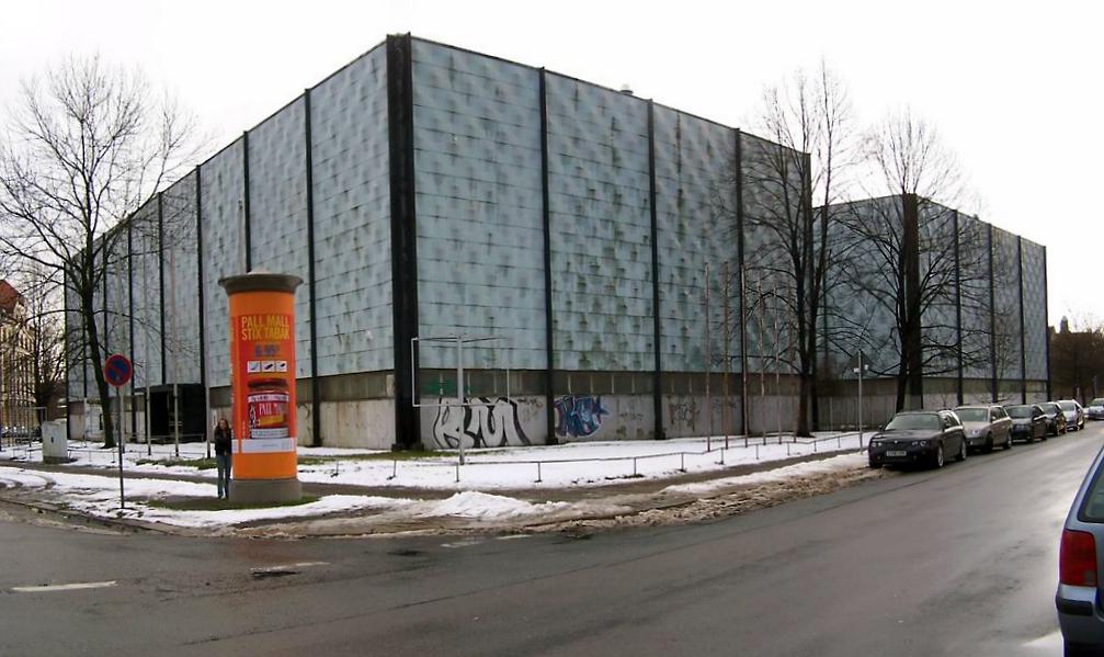 Schlossteichhallen Karl-Marx-Stadt - Chemnitz