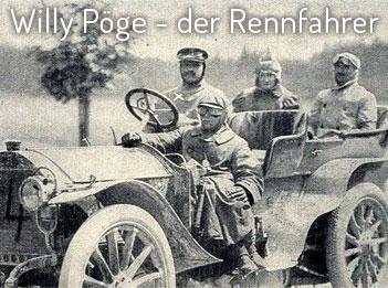 Willy Pöge – einer der besten Rennfahrer seiner Zeit