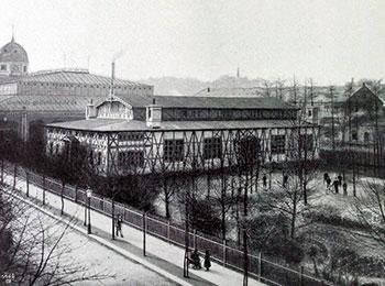 Die Turnhalle an der Hedwigstraße