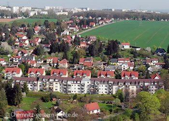 Neukirchen von oben 1