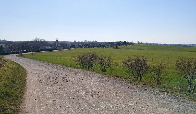 Eisenweg Richtung Berbisdorf