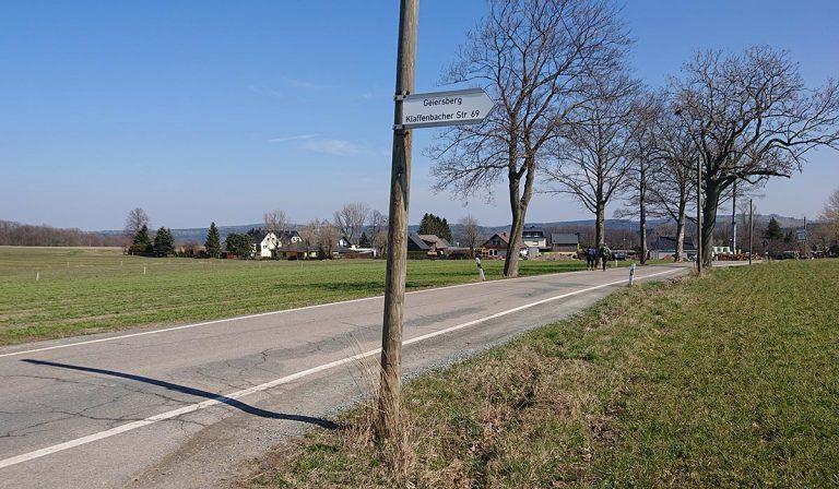 Kurzer Abstecher zum Geiersberg
