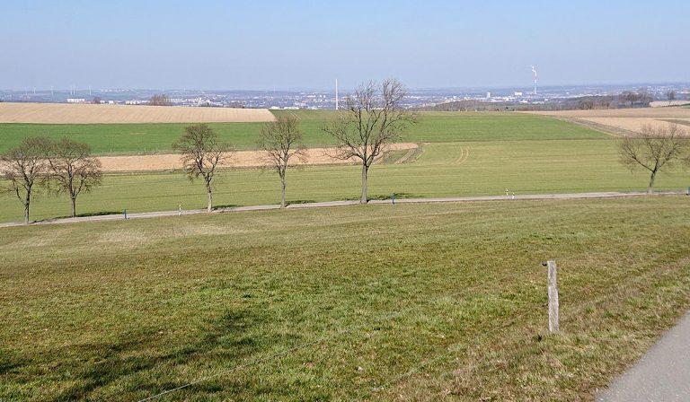 Weitblick ins Chemnitzer Becken