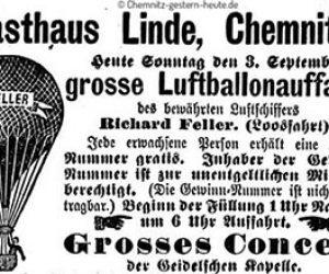 Ballonfahrten 1893