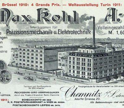 Briefkopf von 1914