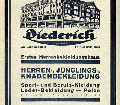 Werbung Diederich 1929