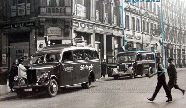 Ansicht der Langen Straße 21 um 1935