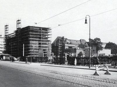 Im Rohbau 1960