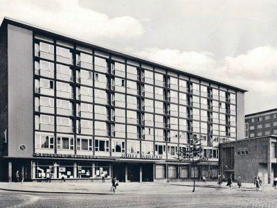 Das fertiggestellte Haus 1963
