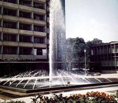 Der große Springbrunnen