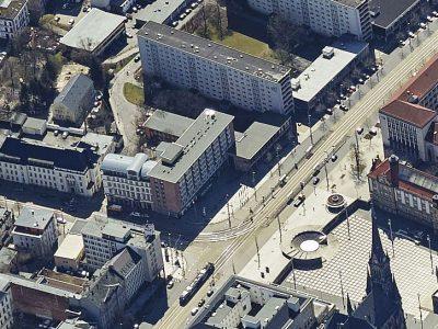 Luftaufnahme aus heutiger Zeit