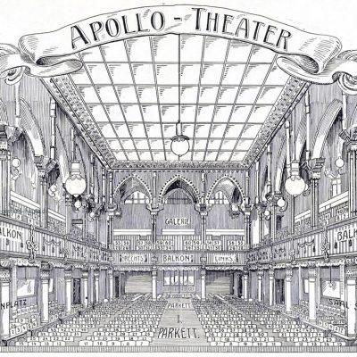 Innenraum um 1908