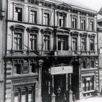 Ansicht um 1908