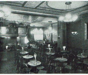 Inneneinrichtung Astoria um 1929