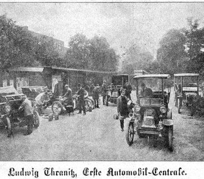 Der Firmenhof Ziegelstraße