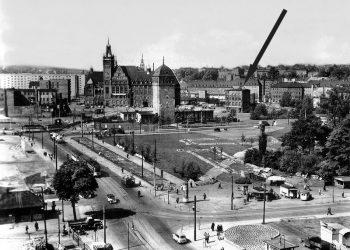 Standort im Stadtzentrum 1962