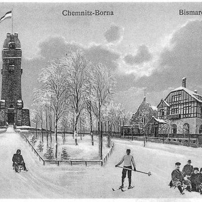 Als Ausflugsziel stilisiert im Winter