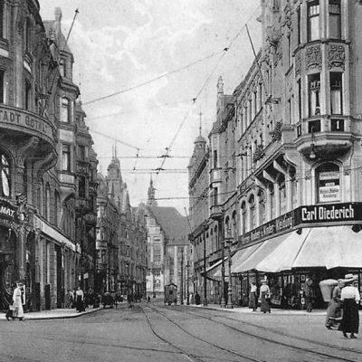 Ansicht um 1914