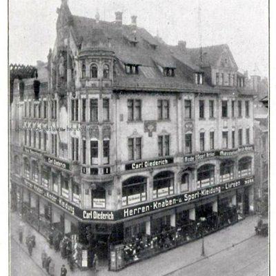 Das Geschäftshaus in den 20er Jahren