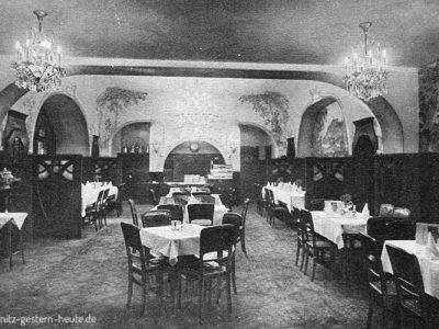 Weinrestaurant 30er Jahre