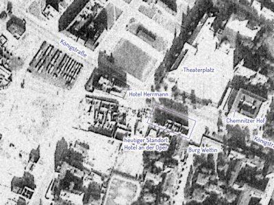 Die zerstörte Innenstadt 1953
