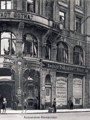 Automatenrestaurant Richtung Friedrich August-Str. ab 1906