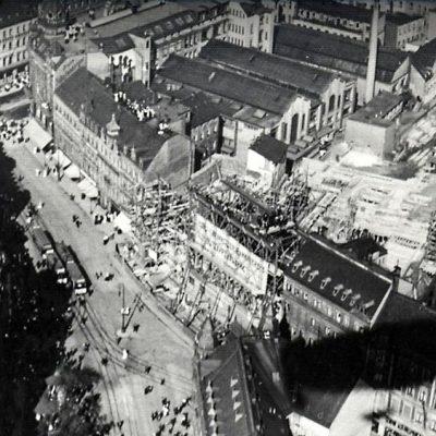 Luftbild um 1912 (Bildquelle Klaus Fiedler)